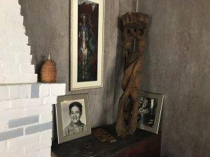 Inside Walter Anderson's studio