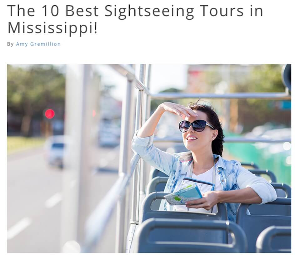 The 10 Best Sightseeing Tours in Mississippi