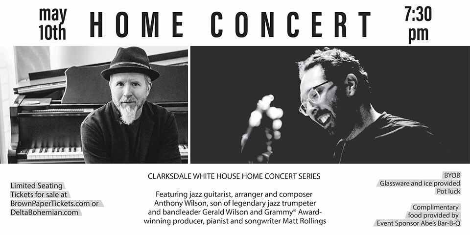 ANTHONY WILSON & MATT ROLLINGS HOME CONCERT