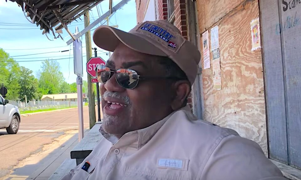 Red talking about Red's Old Timers Blues Festival in Clarksdale