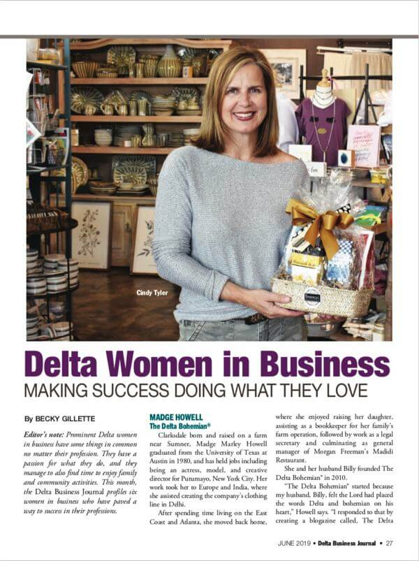 DBJ profiles seven Delta women in business - Cindy Tyler