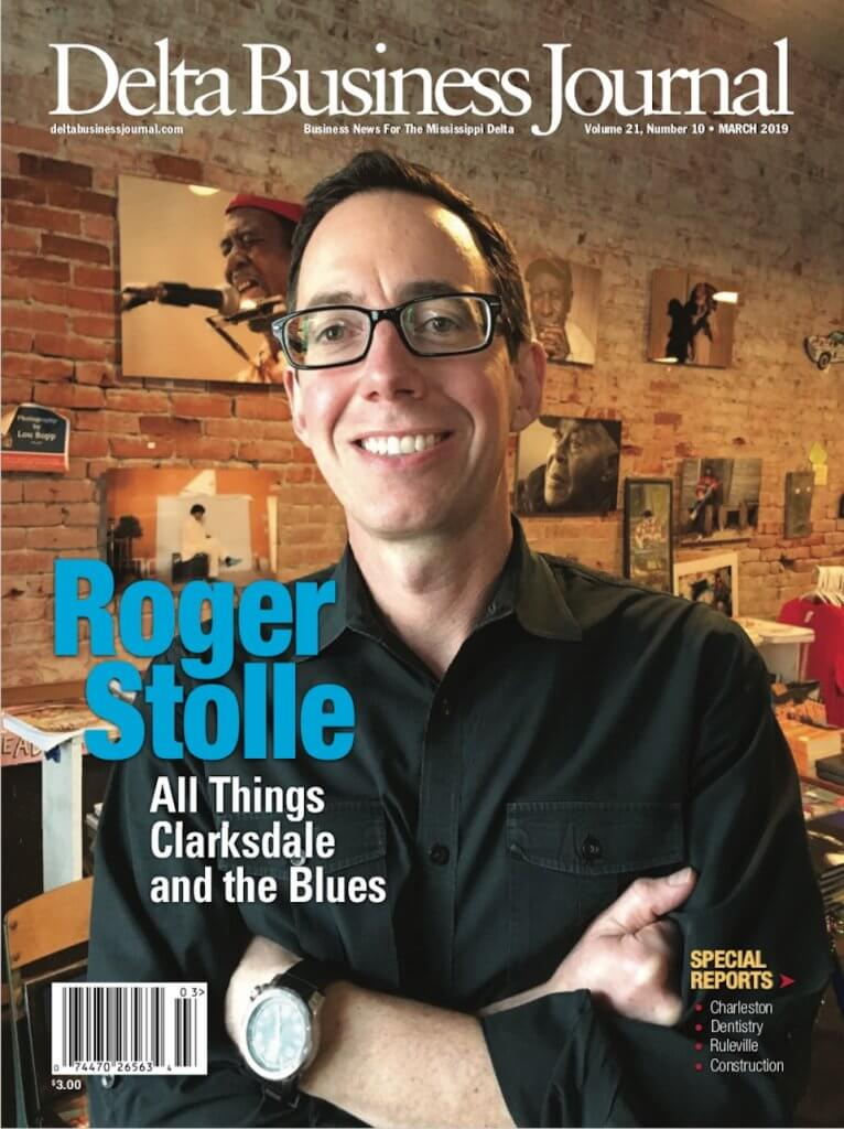 DBJ Coins Roger Stolle as All Things Clarksdale and the Blues