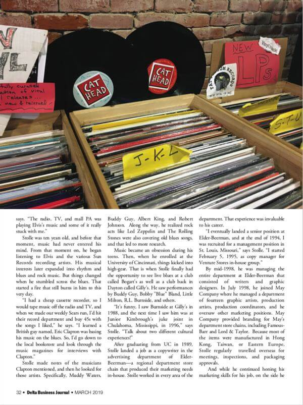 Delta Business Journal Roger Stolle All Things Clarksdale and the Blues