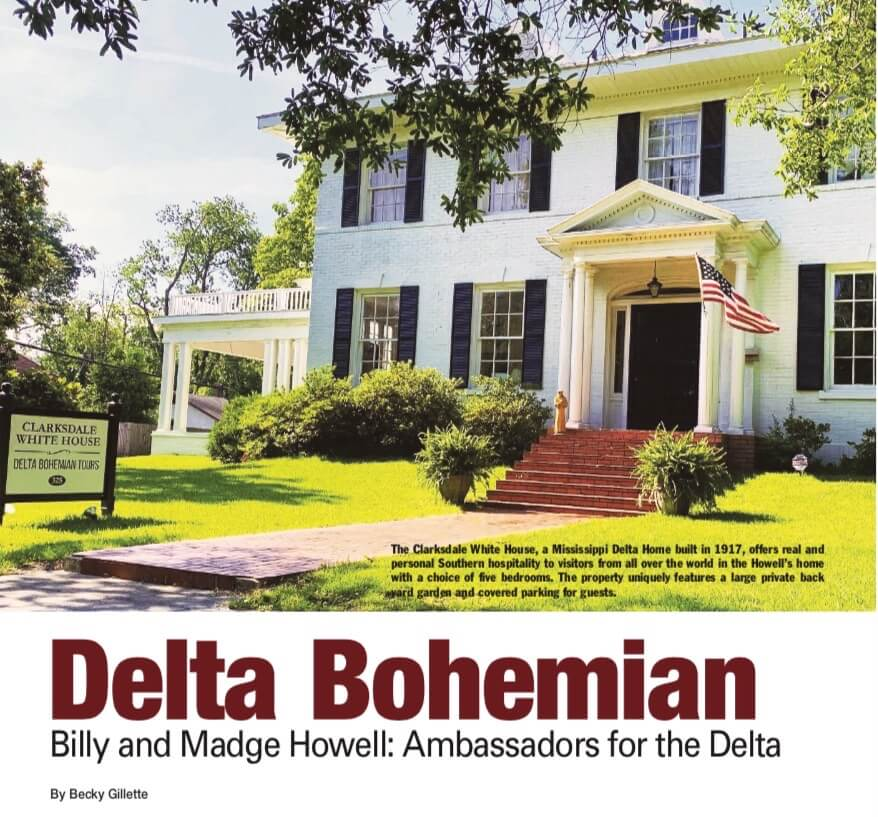 Delta Business Journal Features Delta Bohemian Billy and Madge Howell