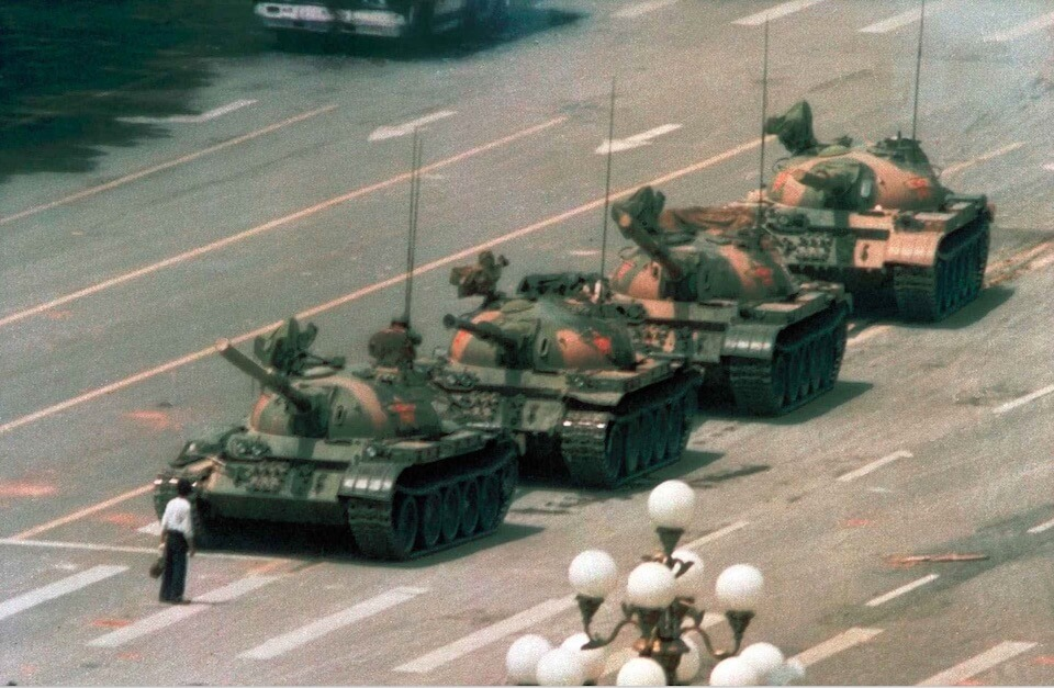Ode to The Tank Man by Chilly Billy Howell